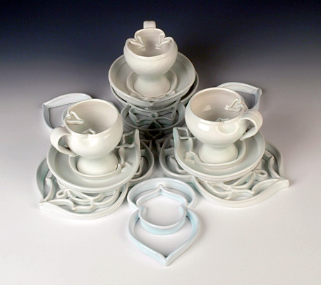 Cup Setting for Three, 2011