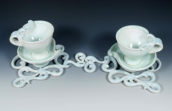 Double Saucer Setting for Two, 2011