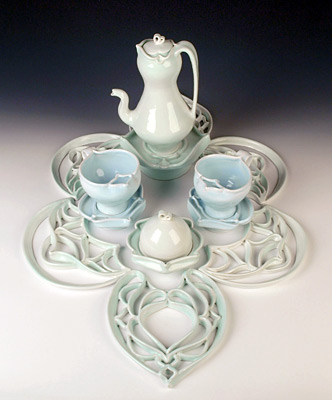 Tea and Dessert Service for Two, 2012